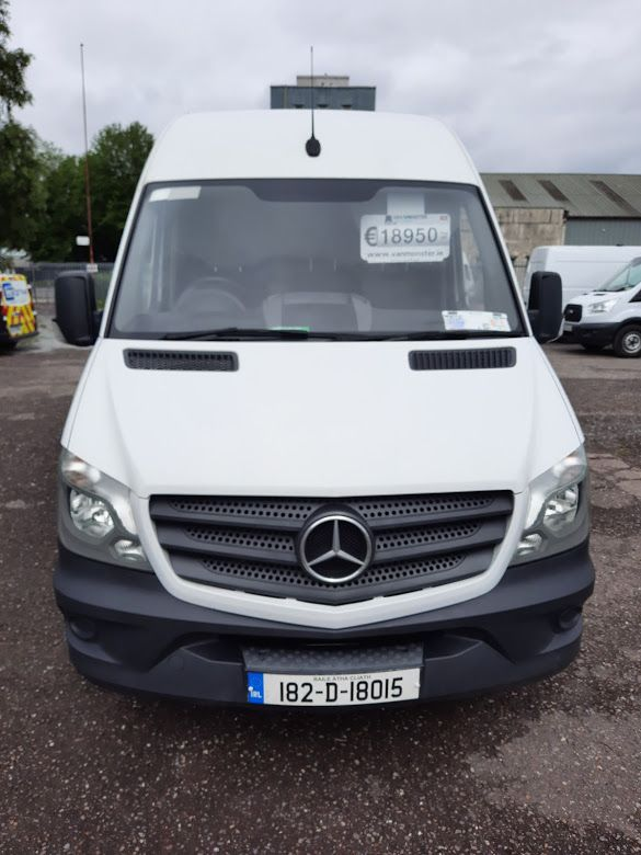 2018 Mercedes-Benz Sprinter SPRINTER 314/43 EU6 6DR (182D18015) Image 4