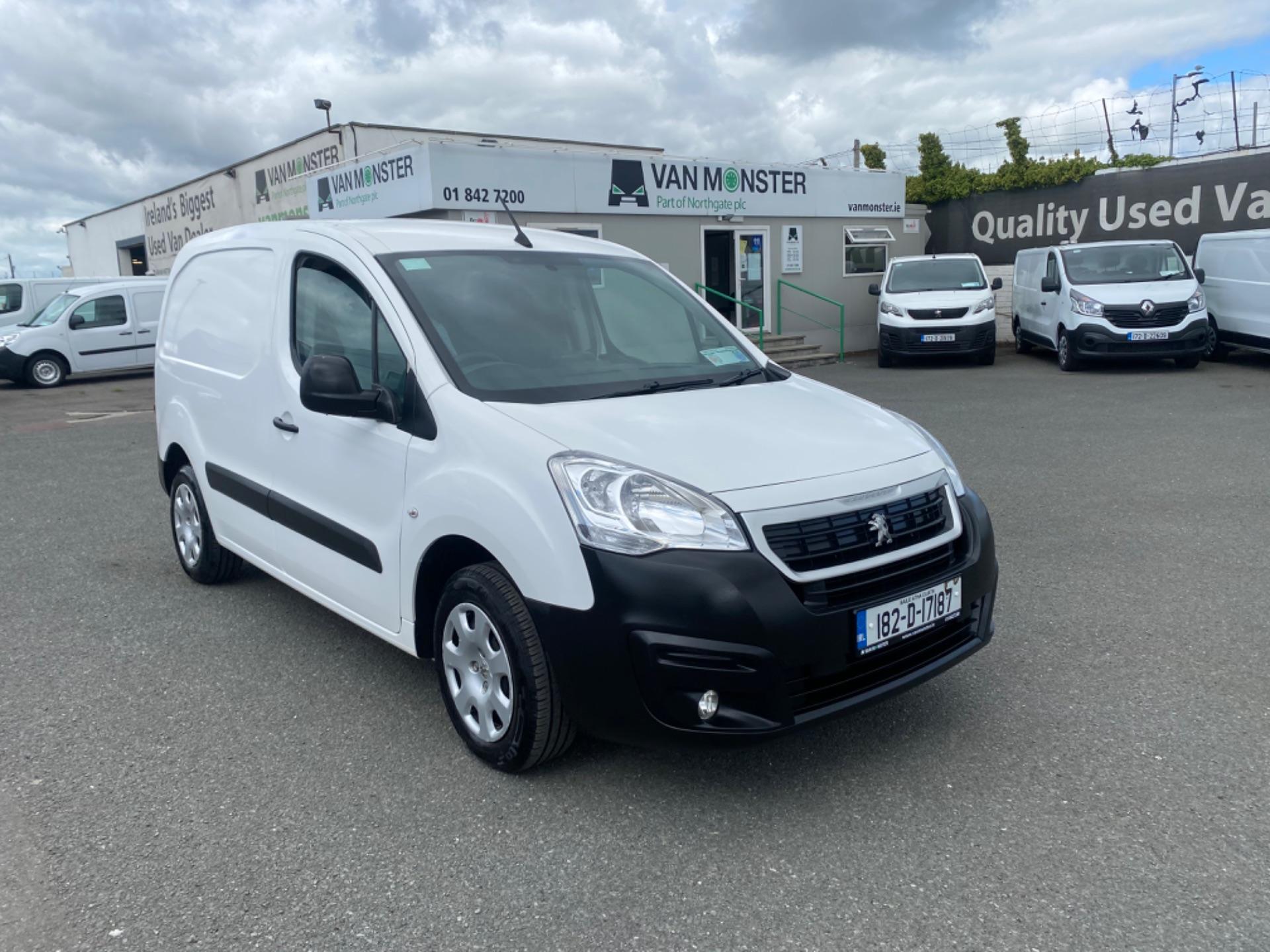 2018 Peugeot Partner Professional 1.6 Blue HDI 100 (182D17187) Image 2
