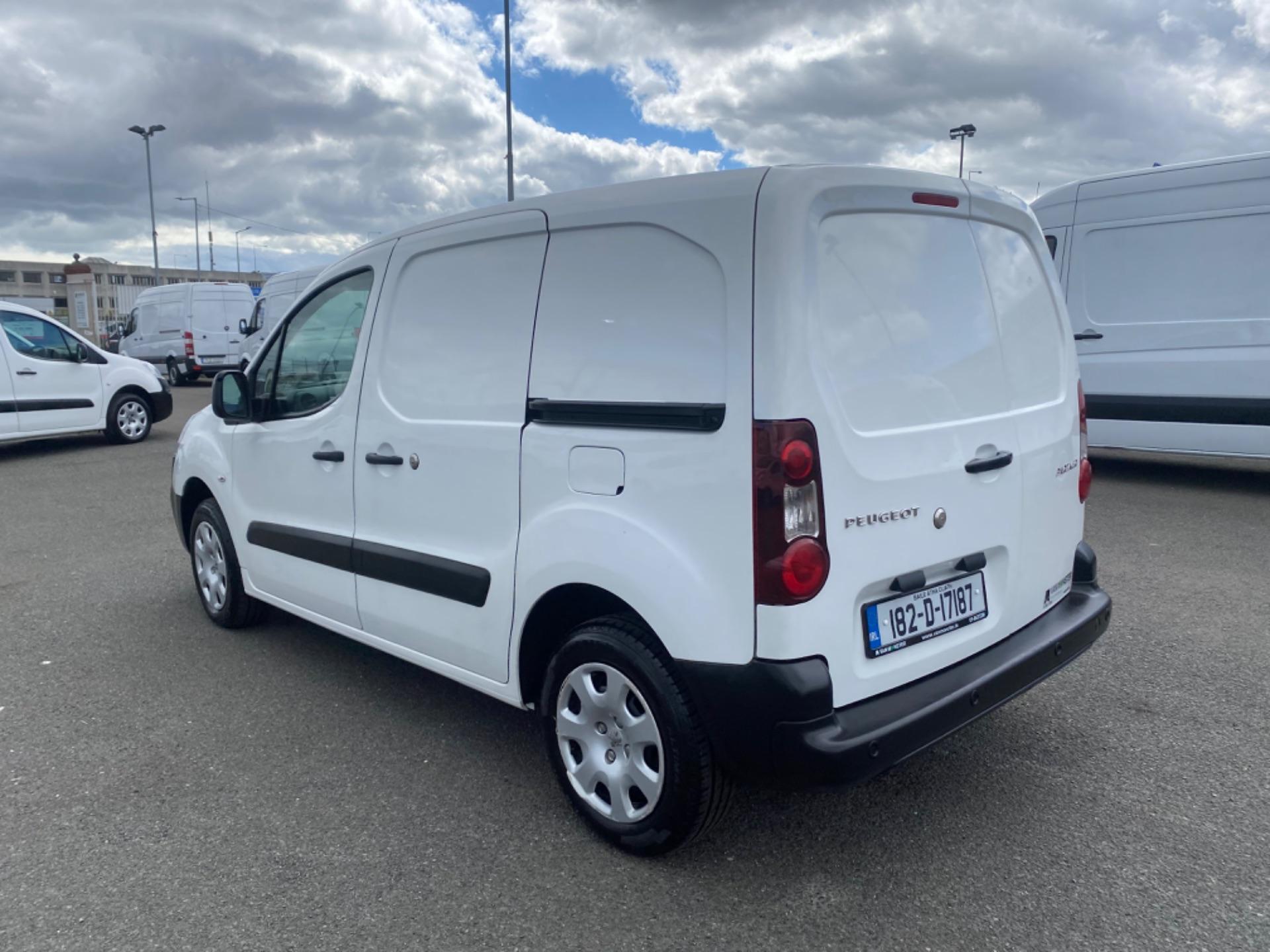 2018 Peugeot Partner Professional 1.6 Blue HDI 100 (182D17187) Image 5