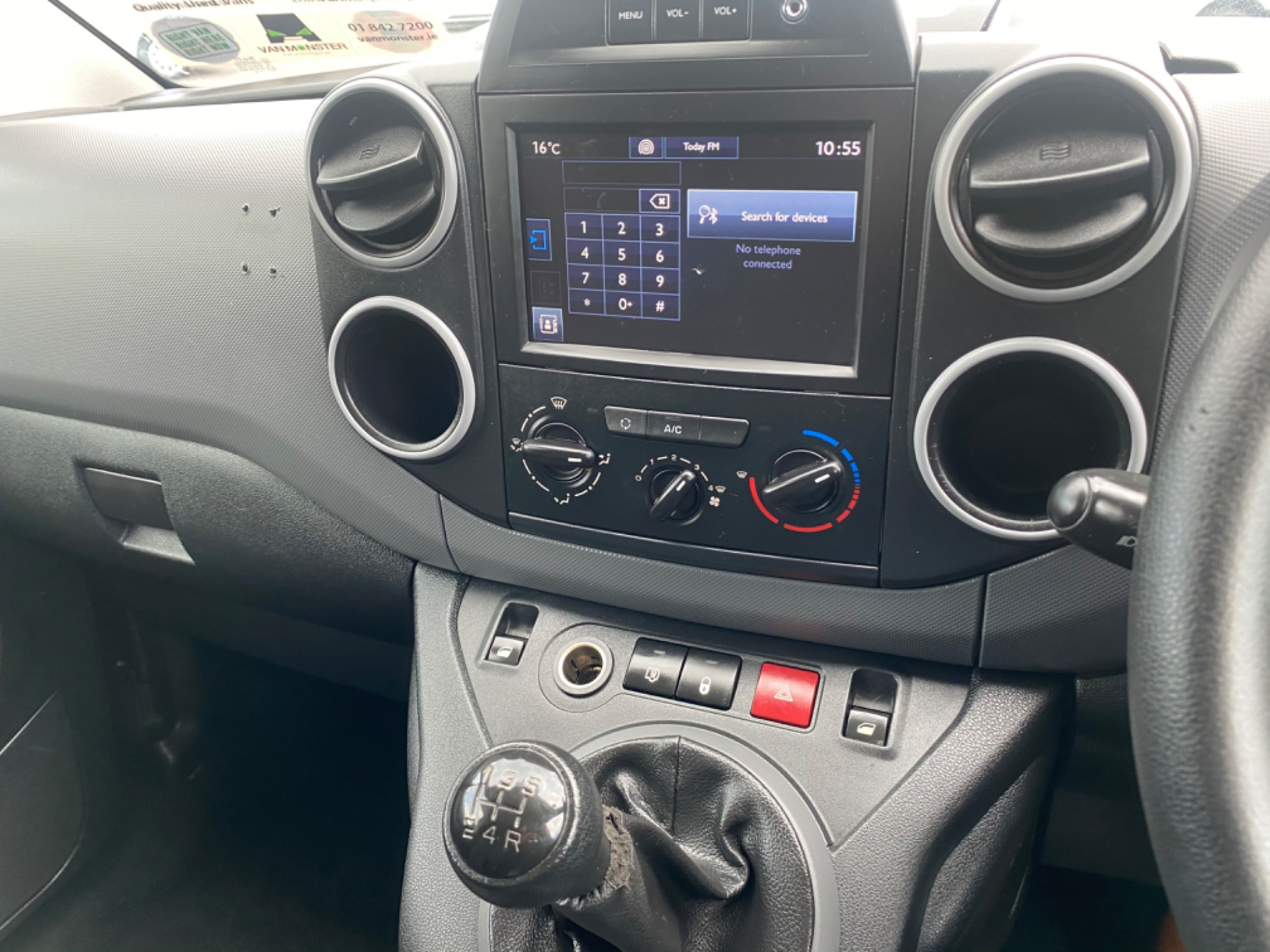 2018 Peugeot Partner Professional 1.6 Blue HDI 100 (182D17187) Image 11
