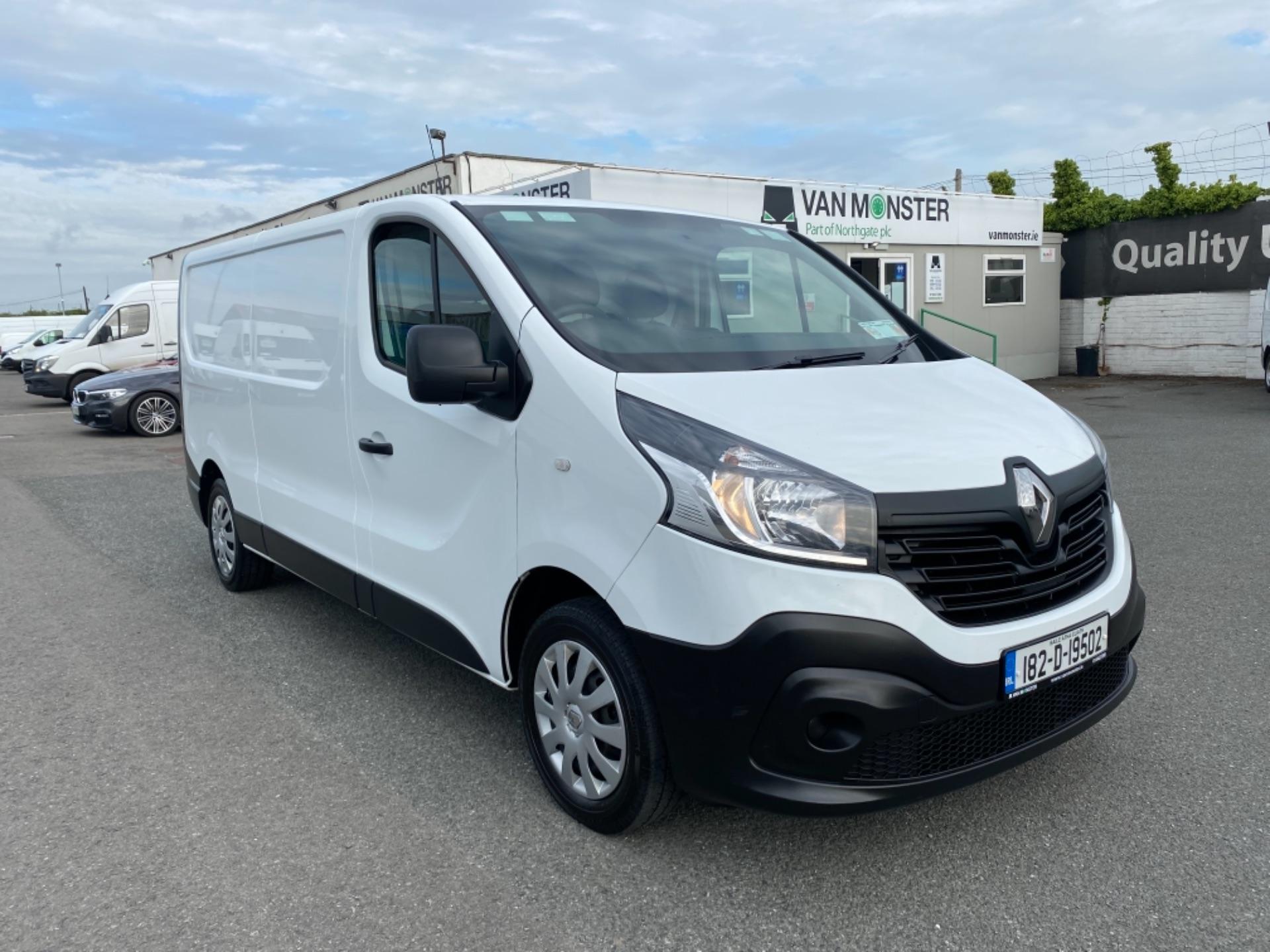 2018 Renault Trafic LL29 DCI 120 Business Panel VA (182D19502)