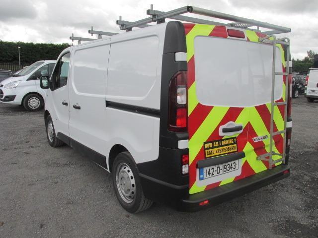 2014 Vauxhall Vivaro 2900 Cdti 5DR (142D19343) Image 5