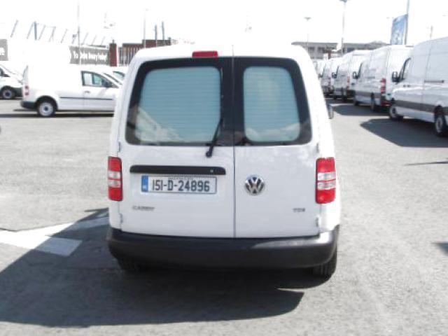 2015 Volkswagen Caddy C20 Startline TDI    (151D24896) Image 4