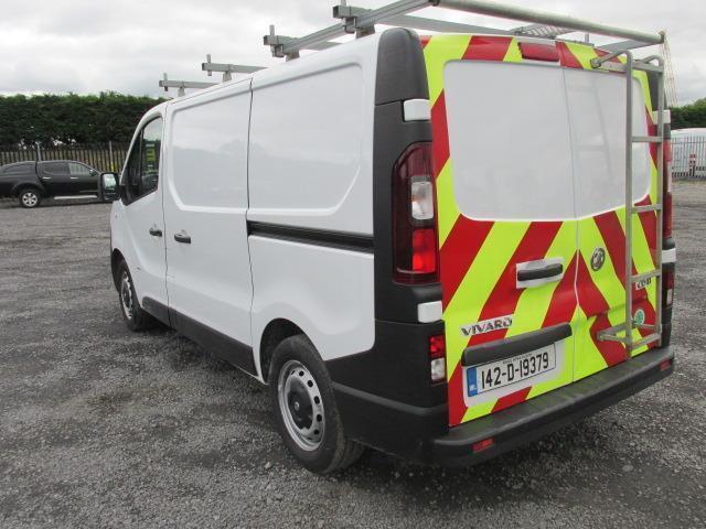 2014 Vauxhall Vivaro 2900 Cdti 5DR (142D19379) Image 5