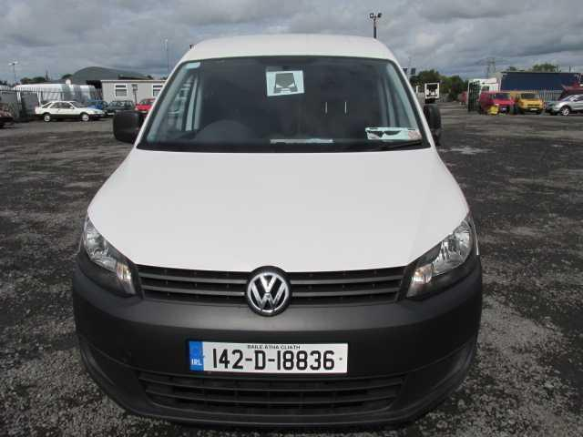 2014 Volkswagen Caddy C20 Startline TDI (142D18836) Image 8