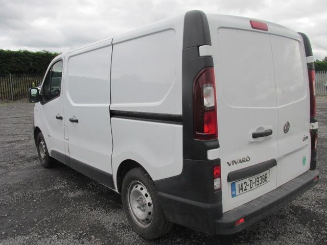 2014 Vauxhall Vivaro 2900 Cdti 5DR (142D19388) Image 5