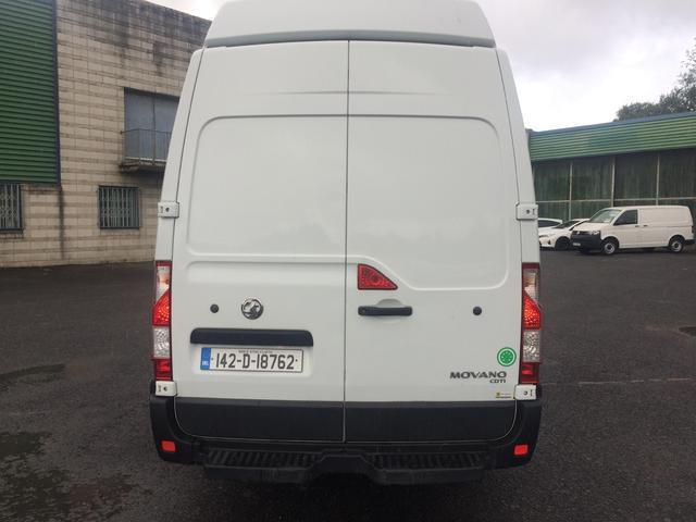 2014 Vauxhall Movano R3500 L3 H3 Cdti 5DR (142D18762) Image 2