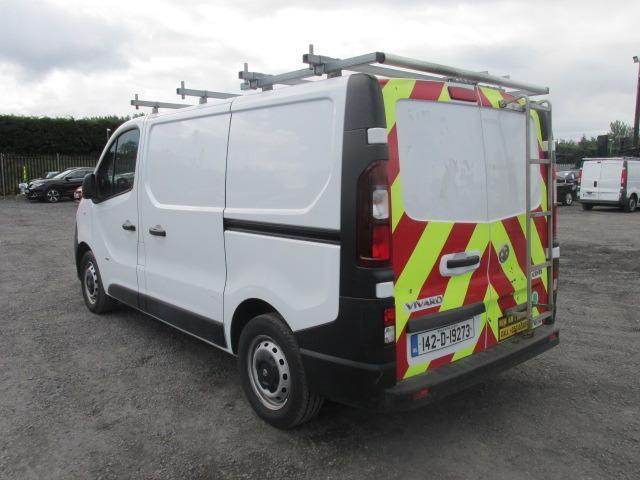 2014 Vauxhall Vivaro 2900 Cdti 5DR (142D19273) Image 5