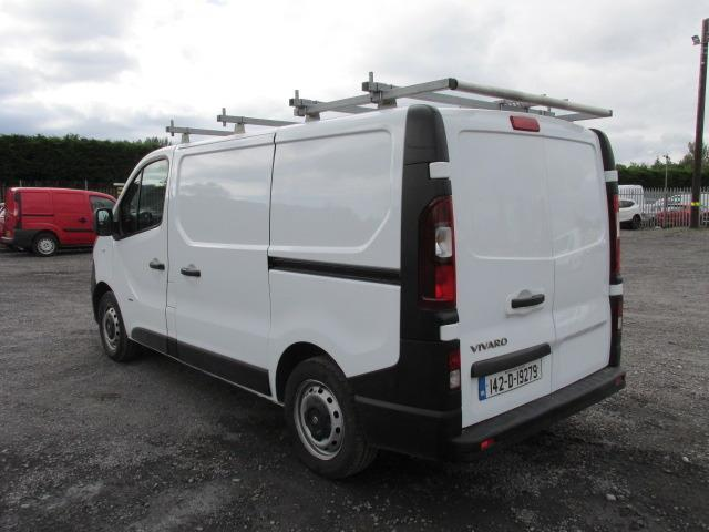 2014 Vauxhall Vivaro 2900 Cdti 5DR (142D19279) Image 5