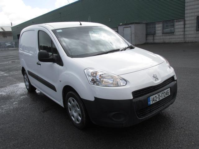 2014 Peugeot Partner 1.6 HDI Partner 850 S L1 90 (142D17246)