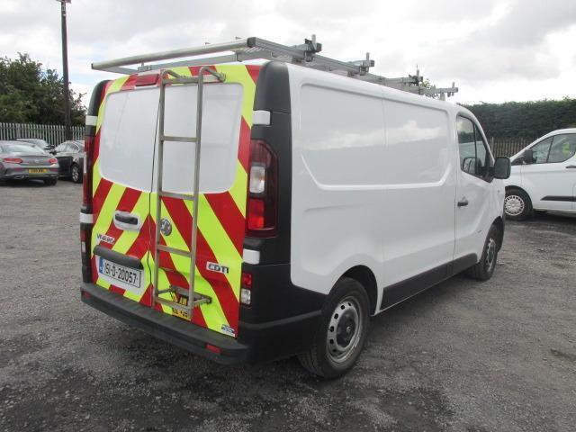 2015 Vauxhall Vivaro 2900 Cdti 5DR (151D20057) Image 3