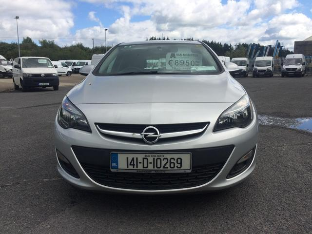 2014 Opel Astra S 1.3cdti 95PS 5DR (141D10269) Image 3