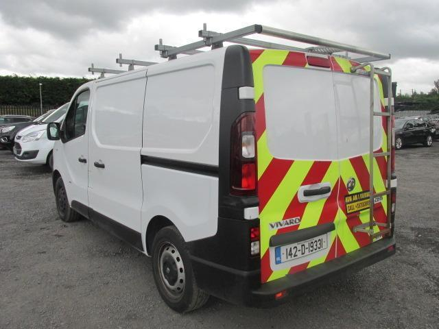 2014 Vauxhall Vivaro 2900 Cdti 5DR (142D19331) Image 5