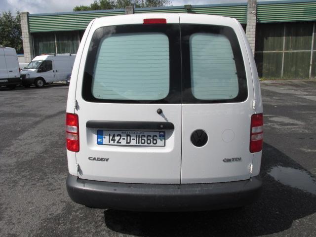 2014 Volkswagen Caddy C20 Startline TDI (142D11666) Image 4