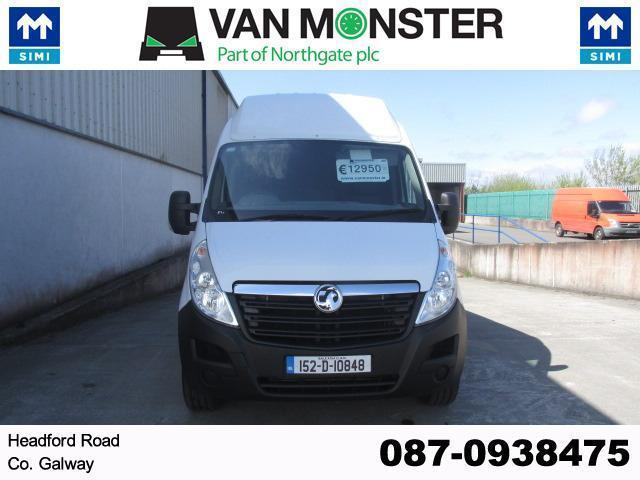 2015 Vauxhall Movano R3500 L3 H3 Cdti 5DR (152D10848) Image 4
