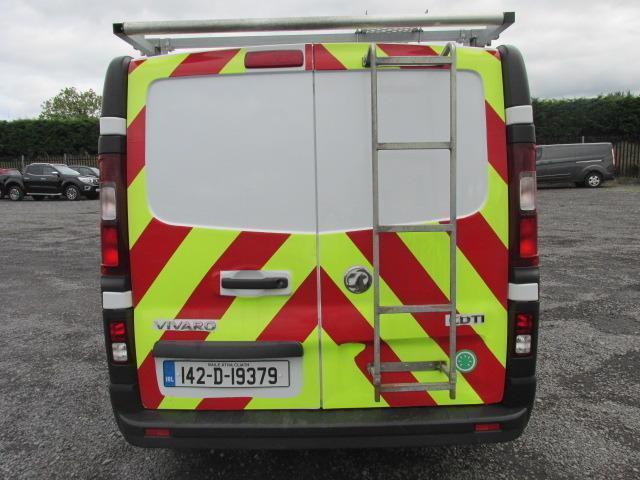 2014 Vauxhall Vivaro 2900 Cdti 5DR (142D19379) Image 4