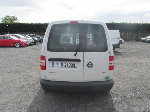 2015 Volkswagen Caddy C20 Startline TDI (151D24899) Image 4