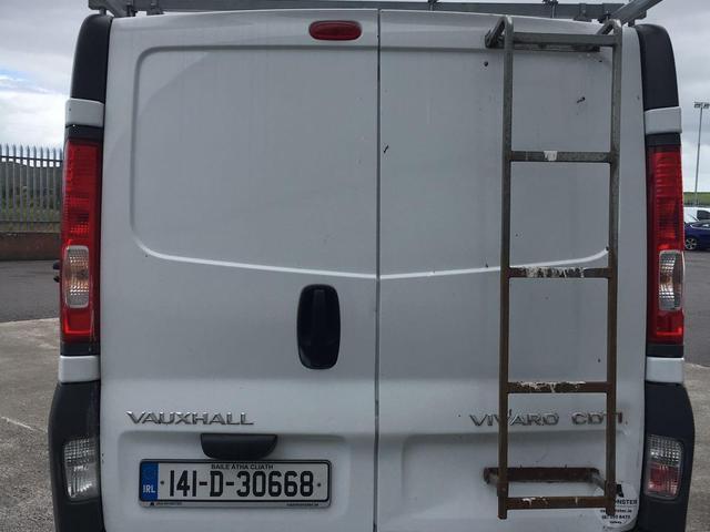 2014 Vauxhall Vivaro 2900 Cdti LWB 5DR (141D30668) Image 4