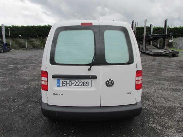 2015 Volkswagen Caddy C20 Startline TDI (151D22269) Image 6