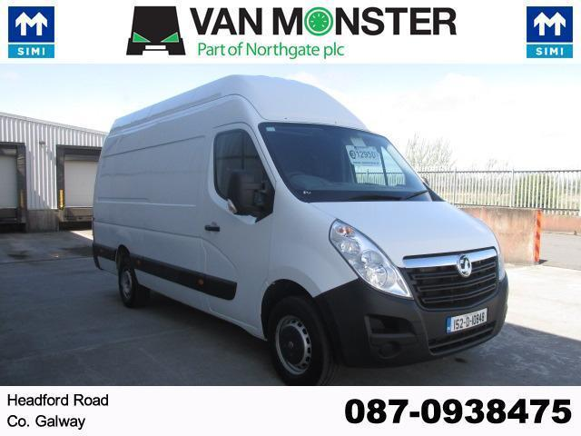 2015 Vauxhall Movano R3500 L3 H3 Cdti 5DR (152D10848) Image 1